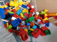 LEGO Duplo 500g Bundle Mixed Bricks,Pieces And Colours 500g - 1/2KG  Used