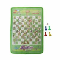 Snake and Ladder Kids Flying Chess Non-woven Fabric Portable Family Board Game