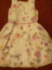 Girl's Pretty Dress. Autograph Marks And Spencer. Aged 10 /11.