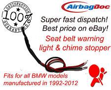 Carillon et Avertissement Lumière Bouchon émulateur Simulateur Fits BMW Occupancy Bypass