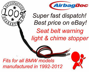 Chime and warning light stopper emulator simulator fits BMW occupancy bypass