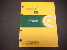 John Deere Operators Manual No.Ome81241,Issue A1,652 Side-Delivery Rake,#880001-