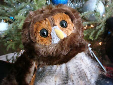 WEBKINZ*Stuffed/Plush/Beanbag*BARRED OWL*Brown*Unused/Sealed Code Tag*NEW*