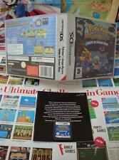 Nintendo DS:Pokémon Donjon Mystère - Equipe de Secours Bleue [SANS NOTICE] Fr