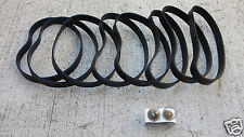 vacuum belt 8 belts 2 bulbs bulb fit Fantom Thunder 71023