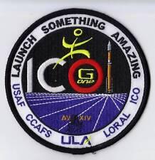 ICO MISSION ATLAS V AV-014 Launch ORIGINAL USAF ULA SATELLITE Mission PATCH