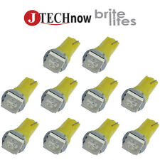 10 x T5 5050 SMD LED Yellow Instrument Panel Dash Light Bulb 74 17 18 37 70 2721
