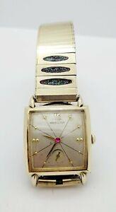 "Vintage 1957 Hamilton ""Cullen"" 22 Jewel Men's Watch ~Runs Great !!! (DG)"