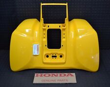 HONDA 400EX REAR FENDER BRAND NEW GENUINE HONDA!! 1999-2007 PLASTIC YELLOW