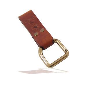Casstrom No.3 Leather Sheath Belt Dangler in Cognac