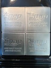 2oz Snap bullion Elemetal 999 silver 1/2oz x 4 divisible bar