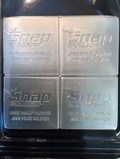 2oz Snap bullion Elemetal 999 silver 1/2oz x 4 divisible bar