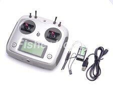 Fly sky 2.4G FS-i6s 10ch RC Transmisión con FS - iA6B Receptor  RC Quad drone