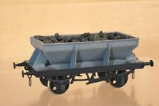 SLATERS KIT BUILT WHITE METAL O GAUGE BR GREY HOPPER WAGON nr