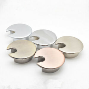 1Pc 35mm Grommets Table Cable Office PC Computer Desk Wire Hole Covers