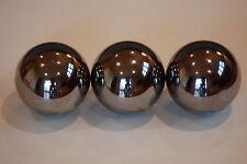 "THREE    1""  Inch   G25 Chrome Steel Bearing Ball"