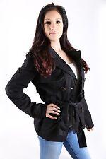 Only  Damen Trenchcoat Jacke Easy Short Größe M black *only sexy*