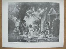 VINTAGE 1916 Print-infantile navigatori da William Ward