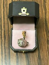 VINTAGE RETIRED JUICY COUTURE PAVE BLOWFISH CHARM NWT