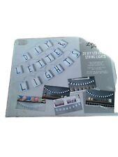 String Letter Lights 20LED Letter Tiles