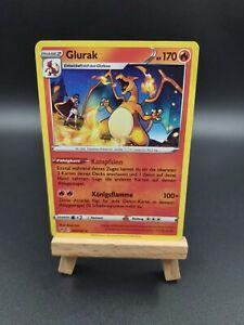 Pokemonkarte Glurak Farbenschock 025/185 Neu Mint TCG deutsch rare vivid voltage