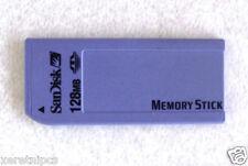 1 Sandisk 128MB Memory Stick  (SDMS-128-822) for Older Sony Cameras  NON-PRO