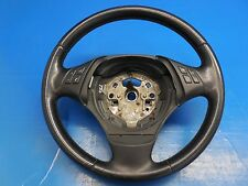 BMW E90 E91 OEM Black Leather Steering Wheel (No Airbag) Part# 32306795568