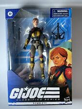 "Hasbro Gi Joe Classified 6"" Scarlett New Redeco In Hand"