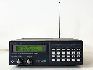 Nice Desktop/Mobile Programmable UHF/VHF 200 CH Scanner Radio Shack Pro-2032