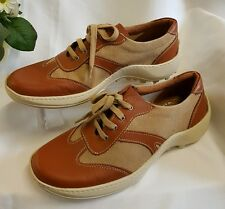 CHAUSSURES HOMME BEIGE MARRON 40 MADE IN ITALY Baskets Chaussons 98201