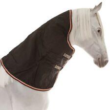 Horseware Rambo Optimo Hood 0g - black & orange/ Halsteil