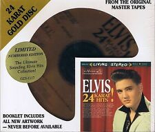 Presley, Elvis 24 carats Hits DCC or CD neuf emballage d'origine sealed gzs-1117 lires. Edit. no.