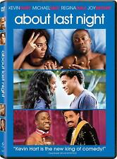 About Last Night DVD Kevin Hart Regina Hall NEW