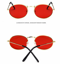 Unisex Vintage Round Metal Frame Sunglasses Retro Shades Trendy Glasses Outdoor