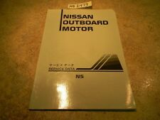 1997 Nissan Outboard Motor NS Service Data Manual
