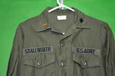 Vietnam US Army OG107 Shirt 15 1/2 x 33  - Excellent Condition - Cotton Sateen