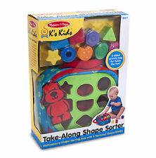 Melissa and Doug K`s Kids Take-Along Shape Sorter Baby Toy #9185
