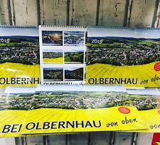Olbernhau Von oben Erzgebirge Pfaffroda Kalender 2019 Luftbild A3 quer in Folie