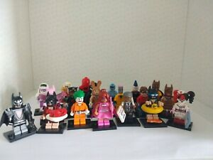 Lego Batman Movie Series 1 Collectable Minifigures - Select Your Character