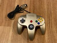NUS-005 Official OEM Authentic N64 Nintendo 64 Controller Gold/Golden