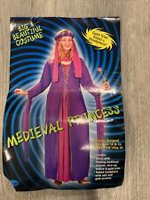 Medieval Princess Costume Fits Size 16-24