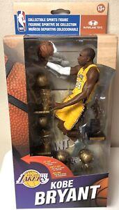 Exclusive McFarlane Kobe Bryant NBA Championship MVP 6 Trophies Figure LA Lakers