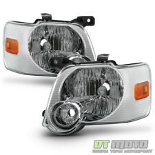 2006-2010 Ford Explorer Headlights Headlamps Replacement Light Lamp Left+Right