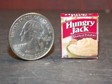 Dollhouse Miniature Food Box Mashed Potatoes 1:12 inch scale H44 Dollys Gallery