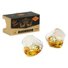 GENTLEMAN'S HARDWARE | New Rocking Whisky Glasses ( Set of 2 )
