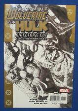 Marvel Ultimate Wolverine Vs Hulk Director Cut #1 Comic Book 2006 Damon Lindelof