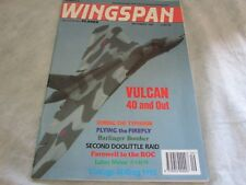 **LOOK* *Wingspan Magazine Sep 1992 Avro Vulcan 40 and Out - Taming The Typhoon