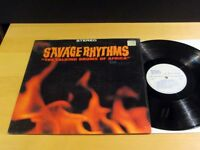 Exotica SAVAGE RHYTHMS Talking Drums Of Africa TEMPO T-1015 Stereo NM SHRINK!
