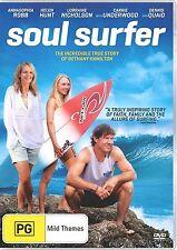 SOUL SURFER (Annasophia Robb) English cover -  DVD - UK Compatible -  sealed