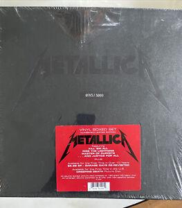 Metallic vinyl Box set  Numbered Limited Edition